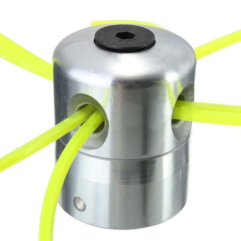 7 pçs/set Alumínio Lawn Mower Strimmer Linha de Corte Para Roçadeira Aparador de Grama Cabeça Top aprox. 4.7*5.5 centímetros de Alta Qualidade