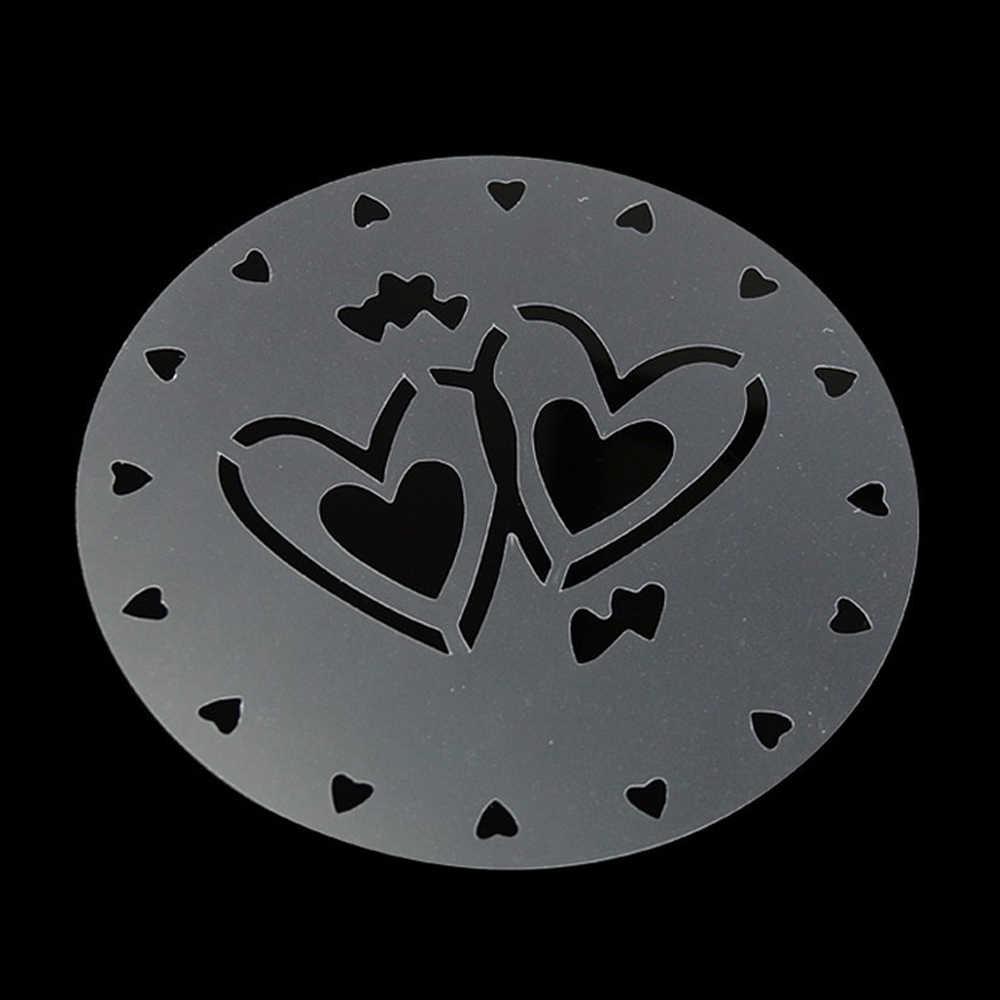 4 шт./компл. трафарет для напыления на торт гирлянда шаблон принт торта трафарет все виды распылительных узоров дома Кухня украшения торта инструменты
