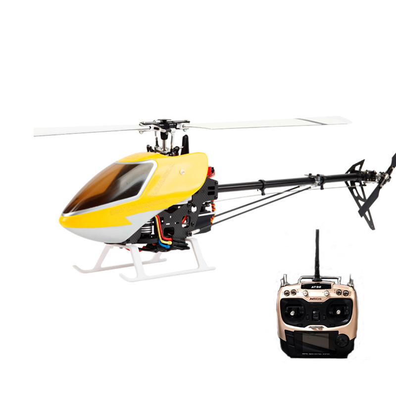 High Speed Helicopter JCZK 450 DFC 6CH 3D Flying 2.4G 9CH Transmitter Extra Long Distance Flybarless RC Helicopter RTF