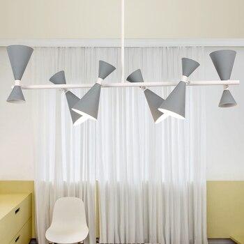 Omicron 46 Post brazos luces moderno colgantes Led hierro QxhsdCtBr