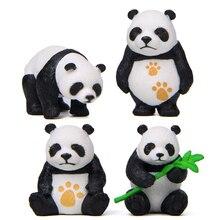 f5f6b822605ff1 4 stuks Mini Panda Beeldjes Decor Super Leuke Cake Topper Micro Accessoire  Woondecoratie Vlag Decoratie Voor Jongen Verjaardagsf.