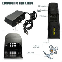 Electronic Mouse Mice Rat Zapper Rodent Trap Killer Victor Control With US Plug for Home Kitchen Use