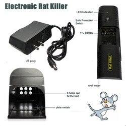 Ratón electrónico ratones rata Zapper roedor trampa asesino Victor el Control con nosotros enchufe para casa uso de la cocina