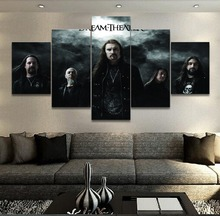 Canvas Print Painting 5 Pieces Music Dream Theater Wall Art Poster Home Decor Living Room Modern Artwork Pictures Cuadros Frame