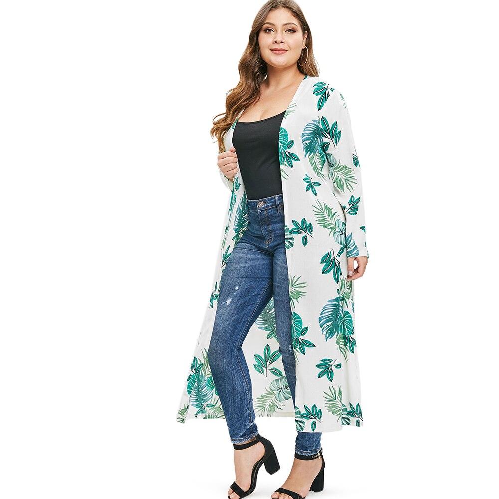Summer Long Cardigan Plus Size Women Female Casual   Trench   Coat British Style Overcoat Women Office Ladies Wear Block Long Tops