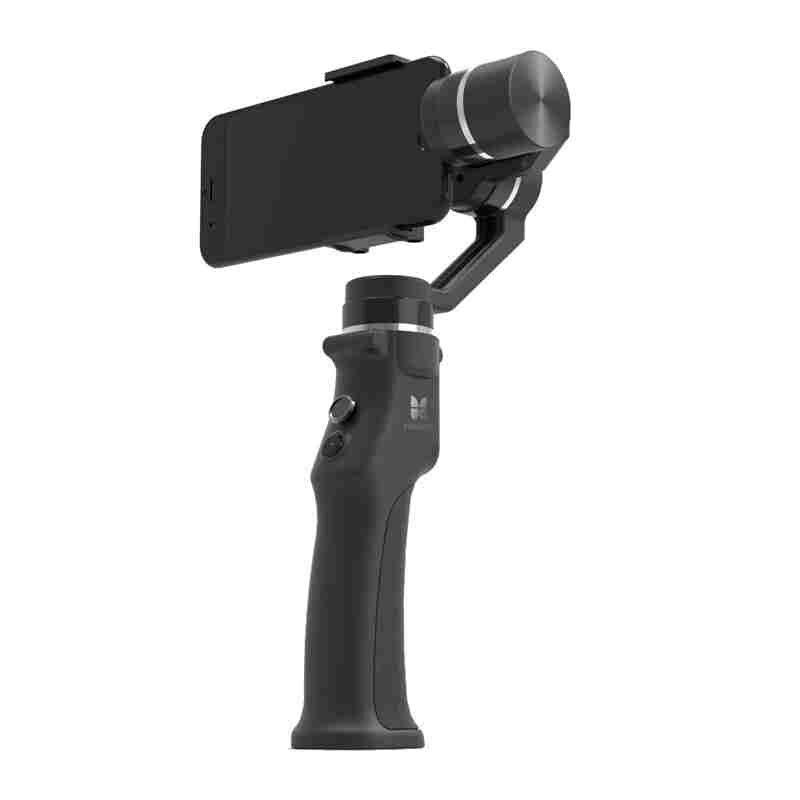 Funsnap Capture stabilisateur de cardan à main 3 axes avec sac de transport pour Smartphone RC FPV GoPros SJcam Xiao Yi caméra d'action