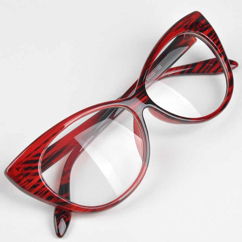 新かわいいラブリー猫メガネフレーム女性ファッション女性眼鏡アクセサリー oculos デゾル feminino # H1018