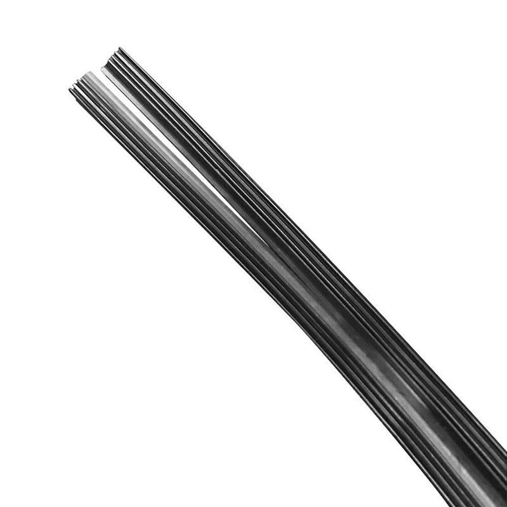 10PCS 24 39 39 6mm Car Bus Silicone Universal Frameless Windshield Wiper Blade Refill Car Boneless Wiper Strip in Windscreen Wipers from Automobiles amp Motorcycles