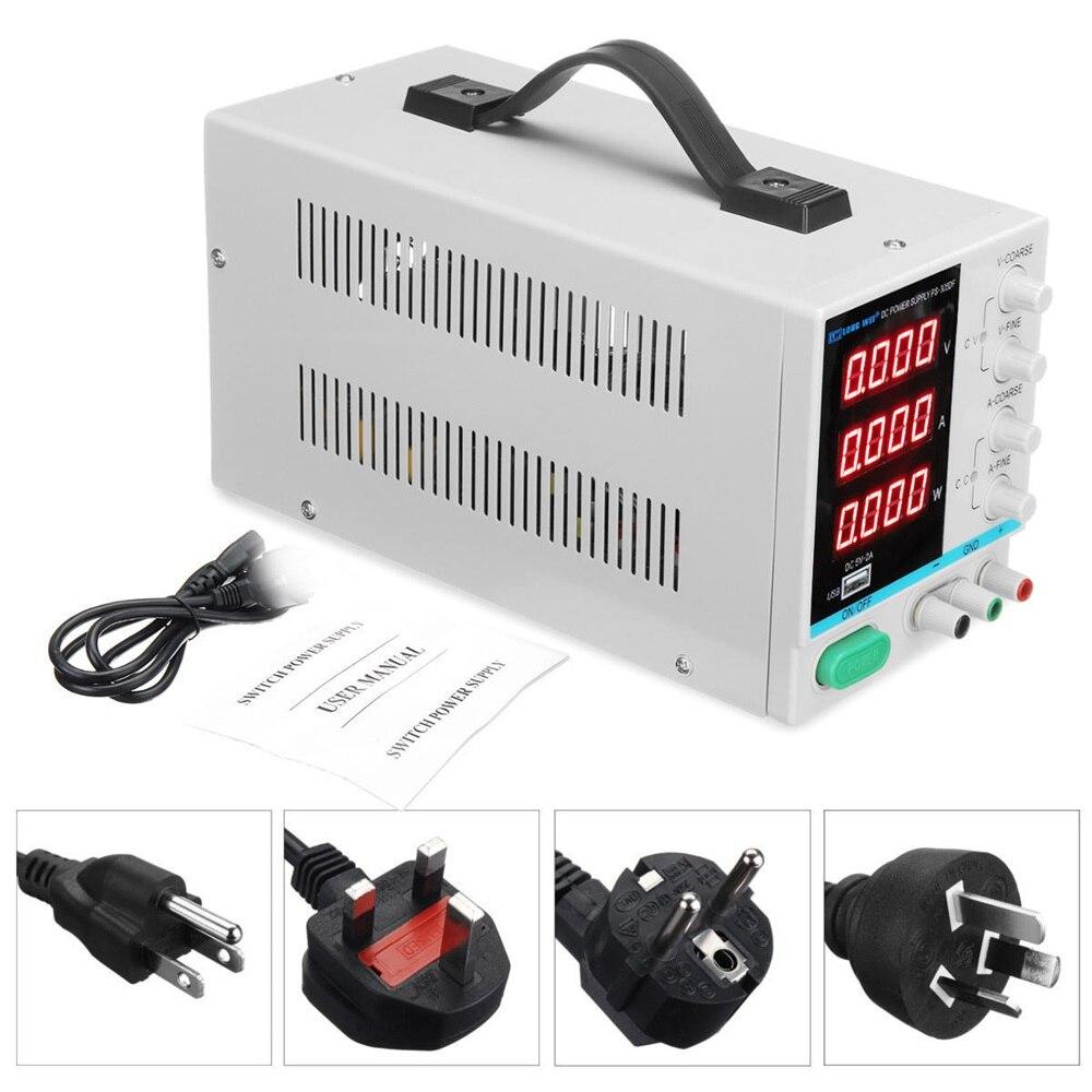 110 V/220 V 30 V 5A réglable numérique DC alimentation de laboratoire alimentation à découpage EU/AU/US/UK Plug