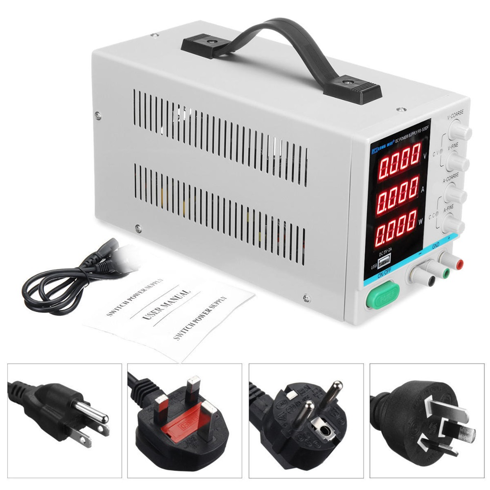 110V/220V 30V 5A Adjustable Digital DC Power Supply Laboratory Switching Power Supply EU/AU/US/UK Plug110V/220V 30V 5A Adjustable Digital DC Power Supply Laboratory Switching Power Supply EU/AU/US/UK Plug