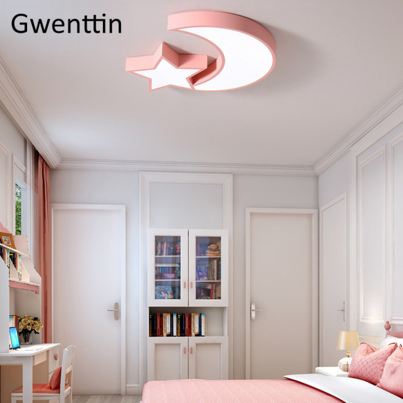 Modern Dimmable Led Ceiling Lights Moon Star Ceiling Lamps Nordic Home Decor Living Room Light Bedroom Light Fixtures LuminariasModern Dimmable Led Ceiling Lights Moon Star Ceiling Lamps Nordic Home Decor Living Room Light Bedroom Light Fixtures Luminarias