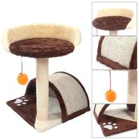 Sisal Hemp Plush Cat Climbing Rack Tree Board Kitten Scratch Hanging Clim Toy for Cat House Pet Toys Household Pets Accessories