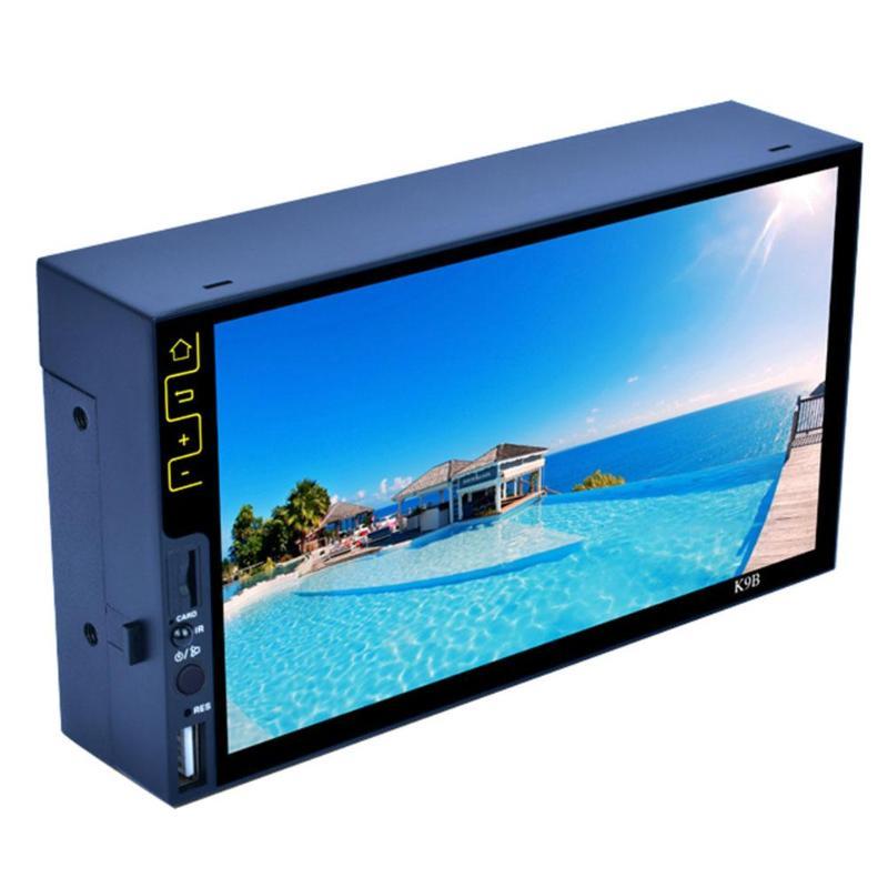 7 pouces Bluetooth FM Radio Stéréo MP5 Lecteur HD 1090 P FM USB Lecteur écran tactile led RDS Stéréo Audio Radio