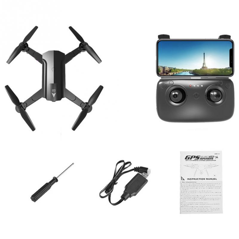 Drone with camera HD 720p 1080P 2.4GHZ Professional FPV Wifi RC Drones Altitude Hold Auto Return RC Quadcopter Helicopter mjx x601h crones camera hd wifi drone auto return rc helicopter professional fpv drone quadcopter with camera