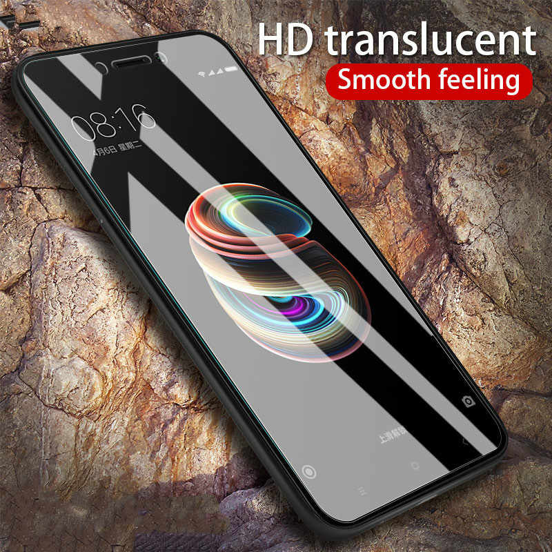 Not full tempered glass for xiaomi Redmi 5A 4X 4A 6A redmi5plus 0.26MM Clear screen protector for redmi Note5 5pro 6 6pro Note7