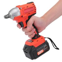 20V Brushless High Torque 1/2Inch Impact Wrench Lithium Battery Rechargeable Wrench Tools Cordless Power Tools Adjustable Speed