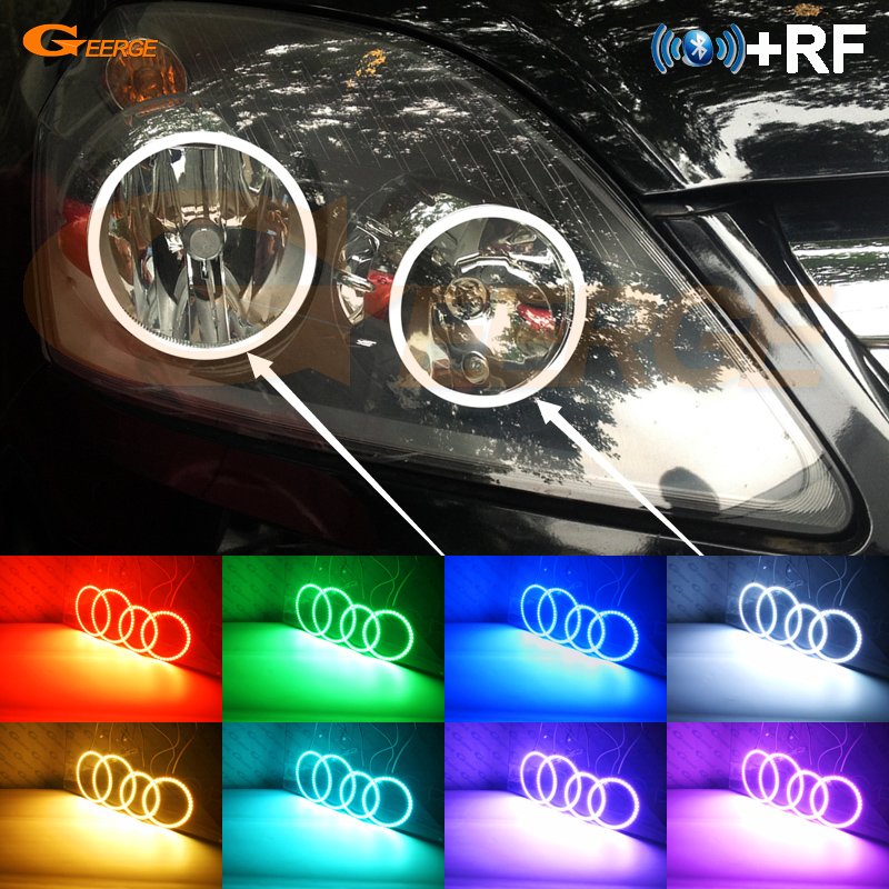 For Opel Zafira B 2005 2014 Excellent RF Bluetooth Controller Multi Color Ultra bright RGB LED