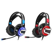 Headset Gaming Headphones Stereo Headphones With Microphone For PS4 Xbox One PC Mac Headphones With LED Lights And Soundproofing