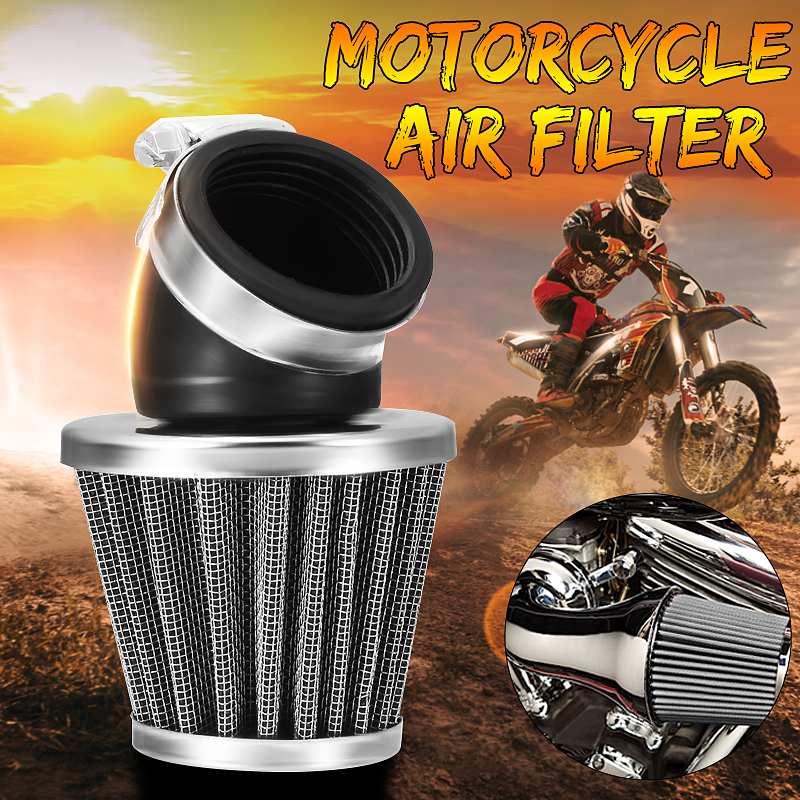 Nuevo Filtro de aire para motocicleta, Scooter Dirt Bike de 35mm, 38mm, 42mm, 48mm, 50mm, Universal, compatible con 50cc, 110cc, 125cc, 140cc, Moto ATV