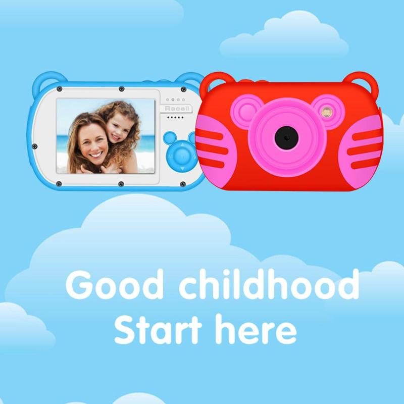 K6 Mini Chidren Caméra 8X Zoom Numérique 2.7 pouces Écran 18MP DSLR Caméra Vidéo Enregistreur Caméscope pour Enfants Cadeau