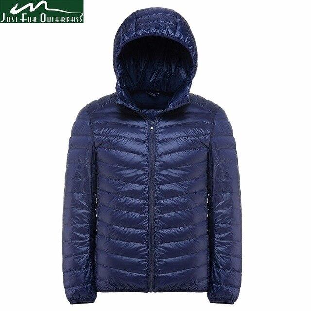 f86cc1d0683bd 2017 New Casual Brand White Duck Down Jacket Men Autumn Winter Warm Coat  Men s Ultralight Duck