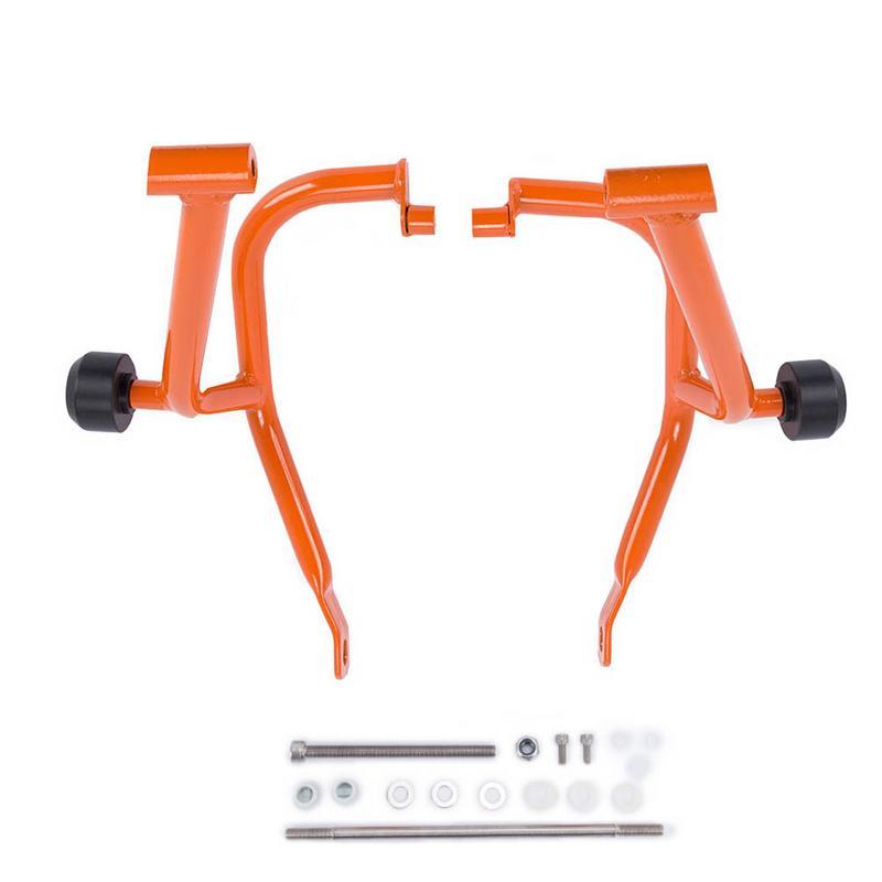 Pour KTM DUKE 200 125 2013 2016 2015 2014 accessoires de moto cadre de barre de choc Protection de moteur pare-chocs