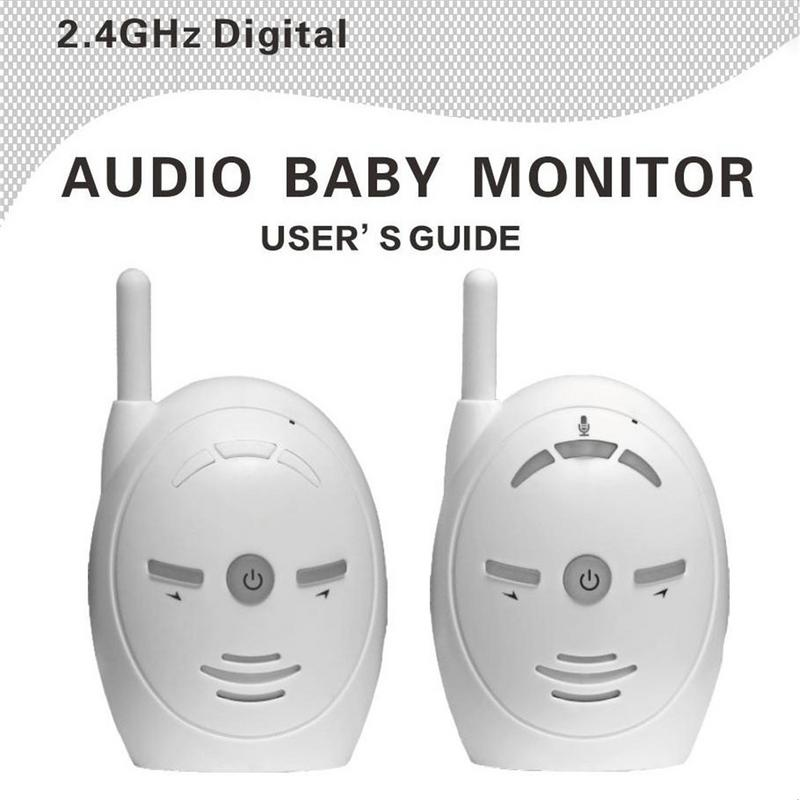 White Wireless Care Baby Walkie-talkie Anti-lost Device Household Two-way Intercom Remote Care Child Safety Products