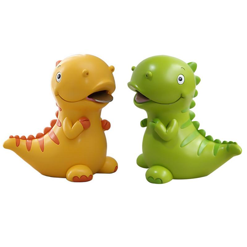 Child Cartoon Piggy Bank Cute Dinosaur Resin Decoration Coin Bank Student Gift Creative Small Objects Home Decoration