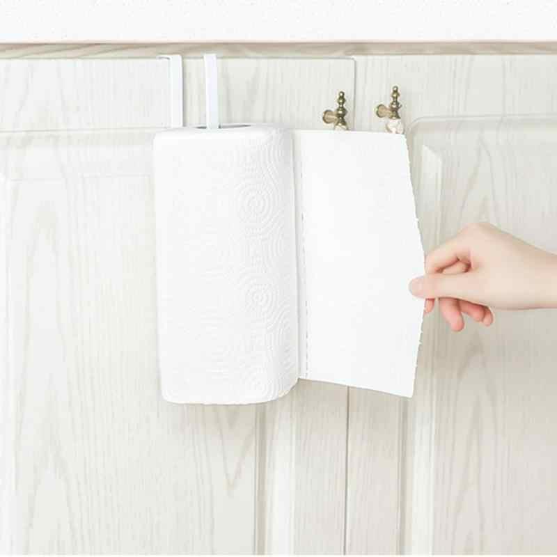 1 шт., вешалка для двери ванной комнаты для дома, кухни, офиса, двери, крюк для ванной комнаты, туалетный держатель под кабинетный туалет, бумажная вешалка для полотенец