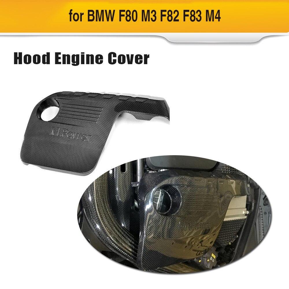 En Fiber De carbone Capot Moteur Pour BMW M3 M4 2014 2015 2016 2017 Couvercle Du Moteur En Capots De Voiture Protection Design De Mode