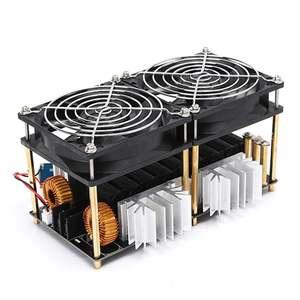 Image 3 - 1800 W/2500 W ZVS אינדוקציה דוד אינדוקציה חימום PCB לוח מודול Flyback נהג דוד קירור מאוורר ממשק + 48V סליל