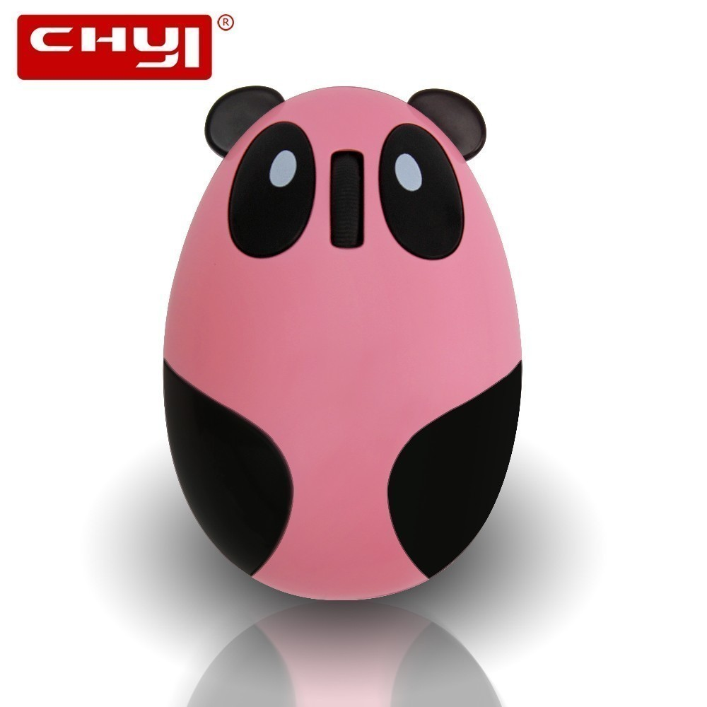 Chyi Cute Cartoon Panda Design Wireless Mouse Rechargeable 1600dpi Usb Optical Mice 3d Computer Mause For Laptop Pc Girl Diversified In Packaging