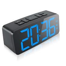 Digital Alarm Clock, New Upgraded 6.3 Inch Large Led Display Clock With Big Number,6 Level Adjustable Brigh
