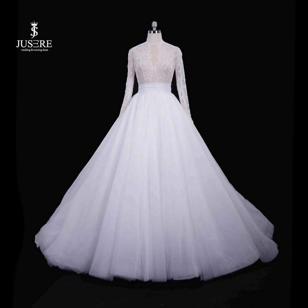 Aliexpress.com : Buy JUSERE 2019 Vintage Ivory Wedding