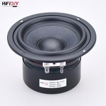 "HIFIDIY LIVE HIFI 4 inch 4.5"" Midbass Woofer speaker Unit  4 / 8 OHM 50W cotton and hemp fiber basin Loudspeaker B4 116S"