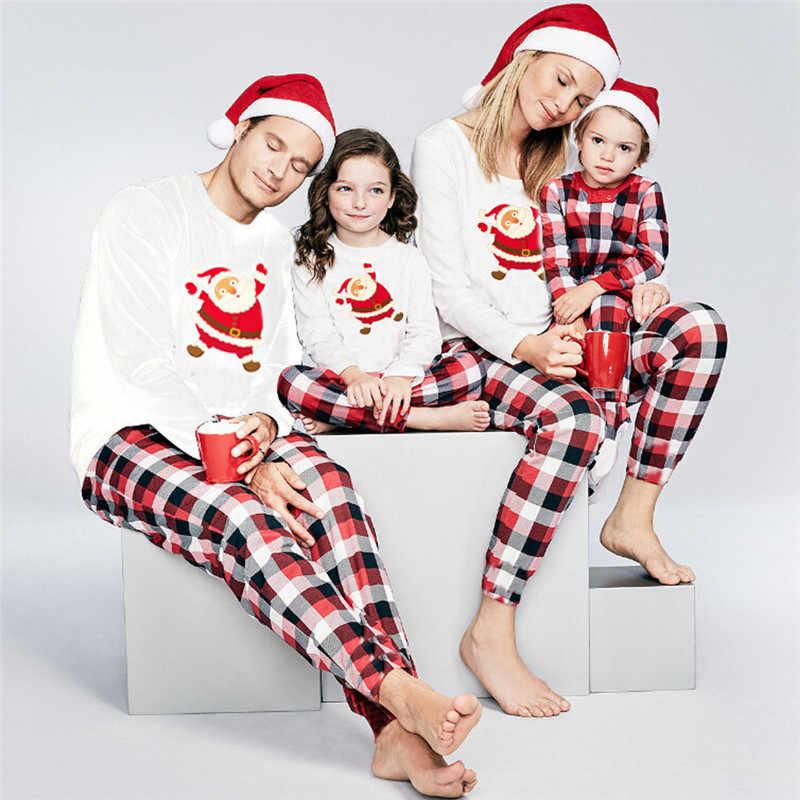 59871de051 Family Matching pyjamas Set Xmas Family Match Pajamas Set New Arrival Hot  Christmas Adult Women Men