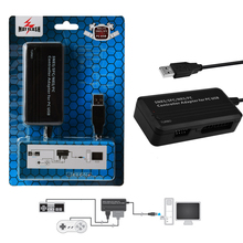 MayFlash for Nintend SNES/ NES/ FC Controller Joypad Adapter for PC for PS3 USB Compatible with Windows