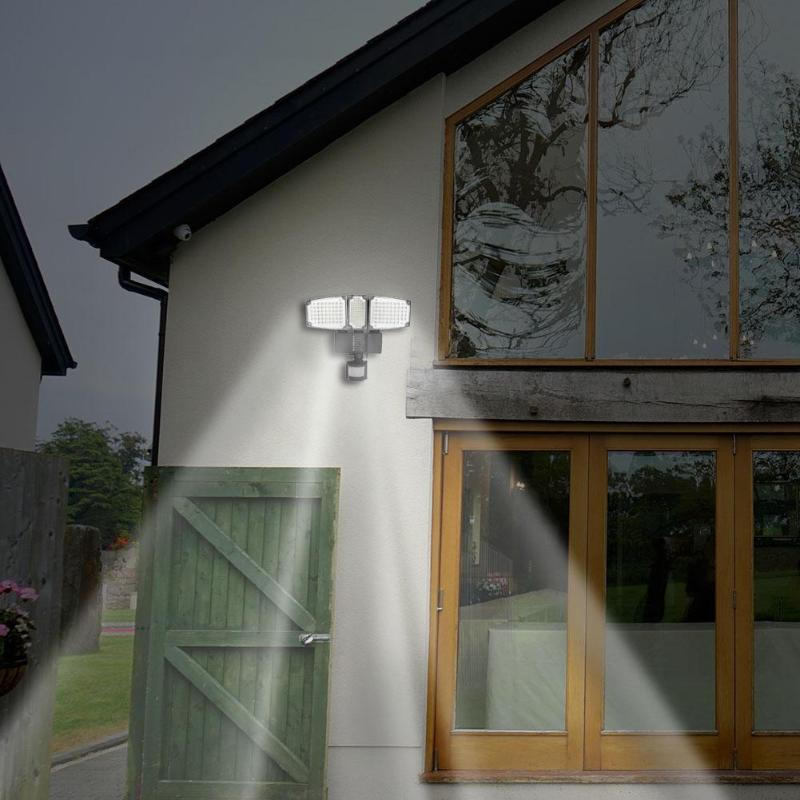 178178/188LED Solar Light Solar PIR Sensor Pannel Lamp Floodlight Garden Security Wall Lamp Waterproof Outdoor Solar Light