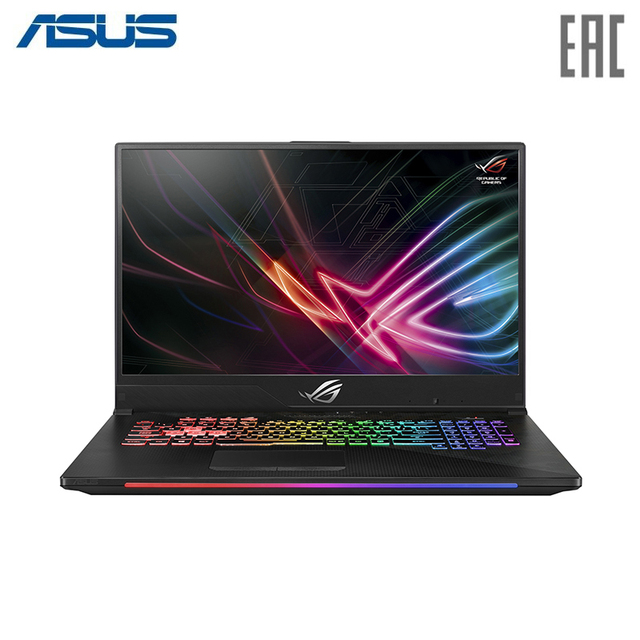 "Ноутбук ASUS ROG GL704GM Intel i5 8300H/8Gb/1Tb + PCIE NVME 256G M.2 SSD/No ODD/17.3"" FHD IPS Anti glare/NVIDIA GeForce GTX 1060 6Gb GDDR5/Camera/Wi-Fi/Windows 10 Black (90NR00N1-M01360)"