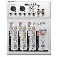 LEORY 4 Channels DJ Audio Mixer Console With USB MP3 Jack Live Audio Sound Mixing DJ Equipment For Karaoke KTV Music Show