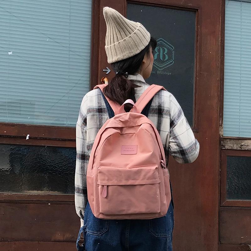 2019 Vrouwelijke Hoge Kwaliteit Canvas Rugzak Vrouwen Mochila Feminina Sac A Dos Rugzak Schooltassen Voor Tiener Meisje Rugzak Voor Snelle Verzending