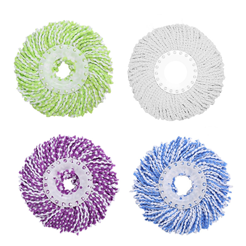 360 Rotating Replaceable Spin Mop Head Made with Microfiber for Household Floor Cleaning 4