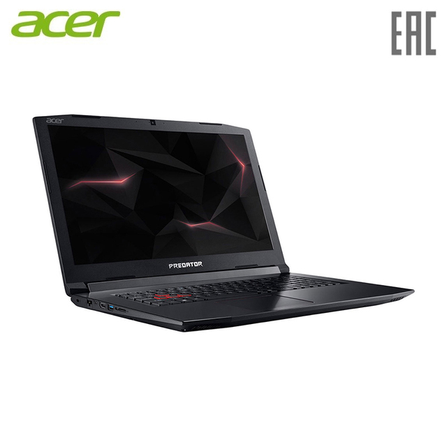 "Ноутбук Acer Helios 300 PH317-52-7471 Intel Core i7-8750H/8GB/1TB/No ODD/17.3"" FHD IPS/GTX 1050Ti 4GB/WiFi+BT/Boot-up Linux/Black (NH.Q3EER.003)"