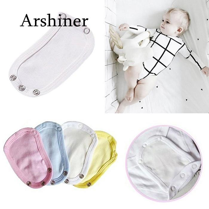 Changing Pads & Covers Sweet-Tempered Newborn Romper Film For Casual Extended Extended Lengthen Baby Jumpsuit Lengthen Film Cotton Solid Bodysuit Cotton Baby