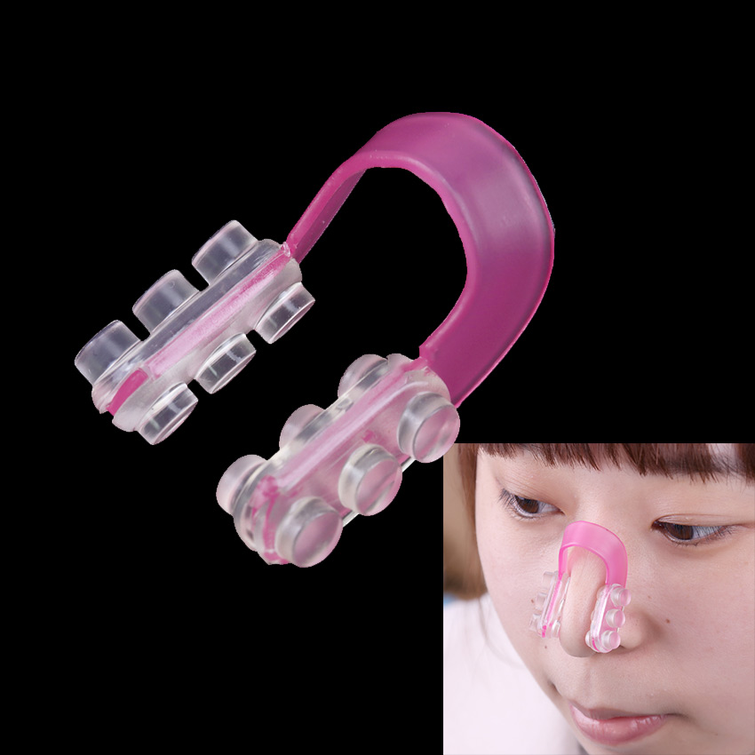 Massager Nose-Clip Relax Beauty Soft-Silicone The Straighten-The-Bridge-Of-The-Nose-Equipment title=