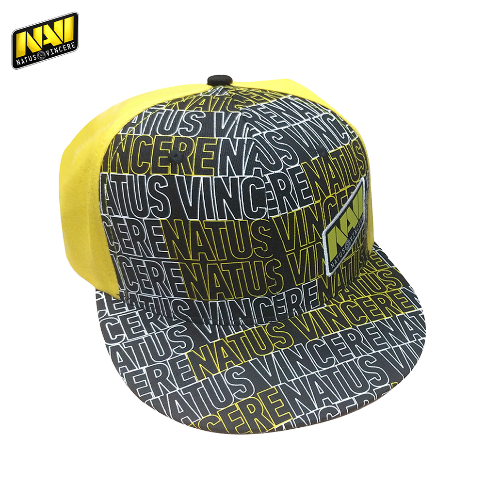 Baseball Caps NATUS VINCERE FNVSNPCAP17BK0000 Hats peaked cap for boys and girls girl boy summer snapback NAVI CS:GO simple leather hat male leather flat cap autumn winter warm peaked cap