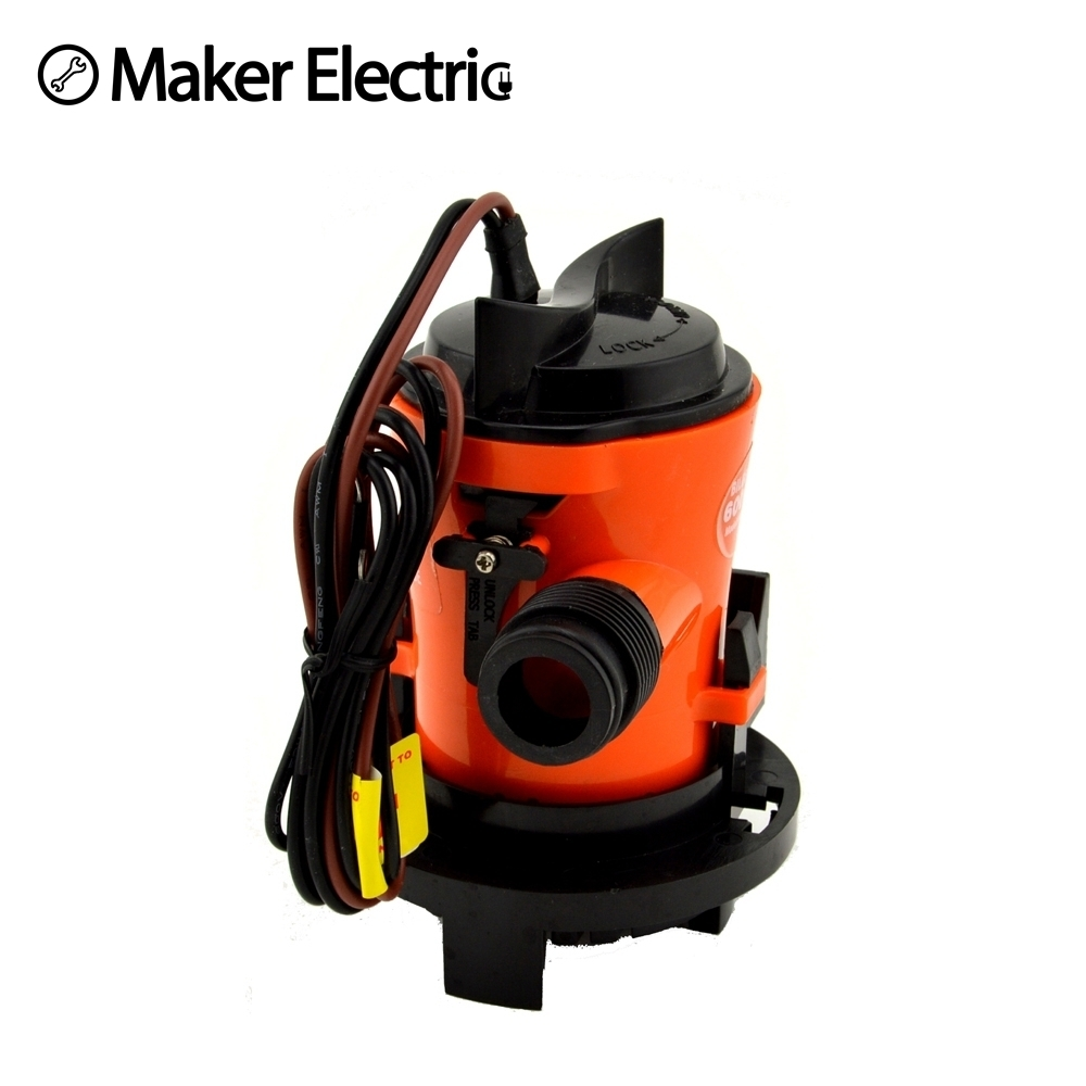 Tools Dc Pump Yacht Marine Fish Dive Boat Electric Bilge Pump Free Shipping Big Clearance Sale 12v Electric Bilge Pump Power Tool Accessories
