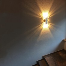 Indoor 6W led wall light Surface mounted Creative aluminum wall sconce AC90-260V Stair Corridor decoration Modern home wall lamp