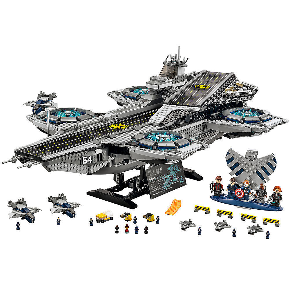 Compatible Legoes Avengers Super Heroes 76042 Bricks Building Blocks The SHIELD Helicarrier Model toys for Childrens Kids Gift single sale super heroes gi joe series matt with junkyard dog firefly snow job power girl building blocks kids gift toys kf6028