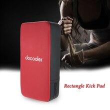 Boxing pads Docooler Rectangle Kick Pad Foot Focus Target Pad Strike Shield for Punching Fitness Boxing Karate Training Pads цена